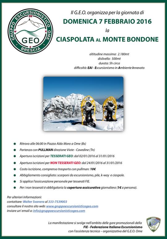 Ciaspolata al Monte Bondone