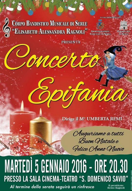 Concerto Epifania a Serle