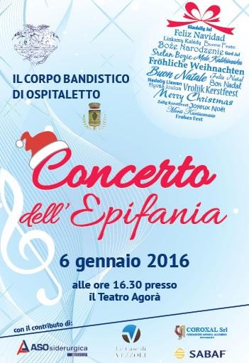 Concerto dell'Epifania a Ospitaletto