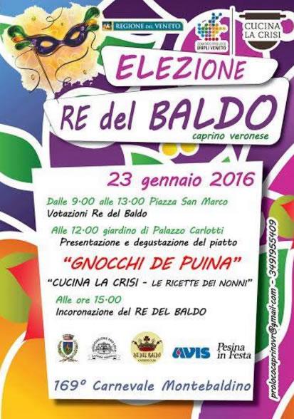 Elezione Re del Baldo a Caprino Veronese VR