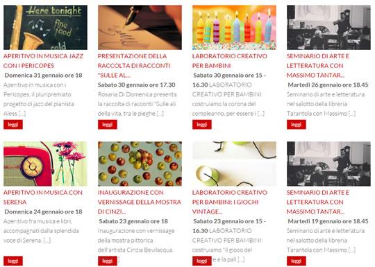 Eventi in Libreria a Brescia
