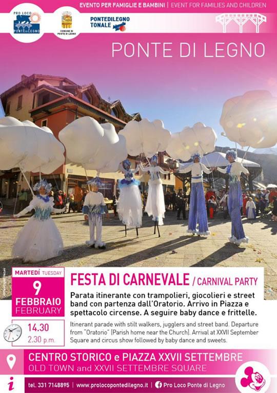 Festa di Carnevale a Ponte di Legno