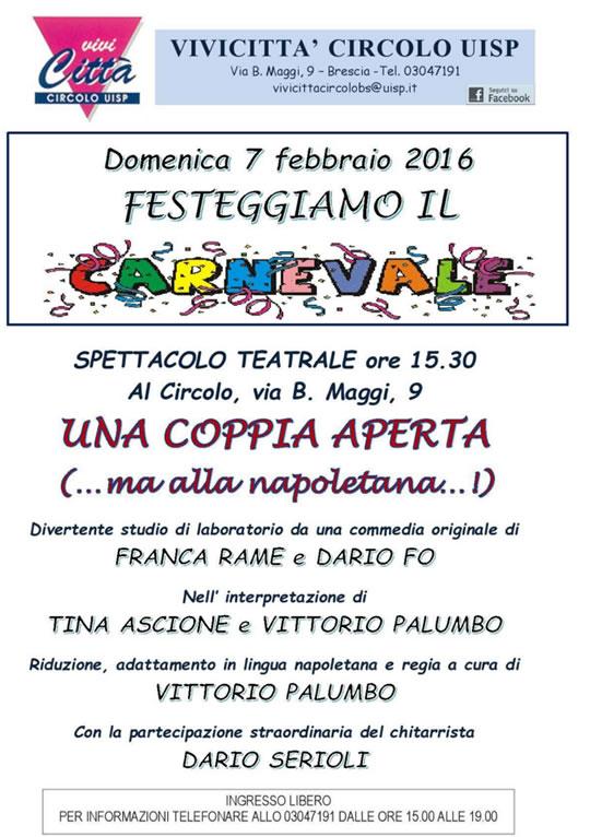 Festeggiamo il Carnevale a Brescia