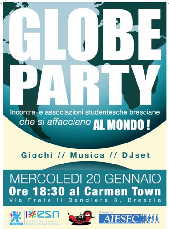 Globe Party a Brescia