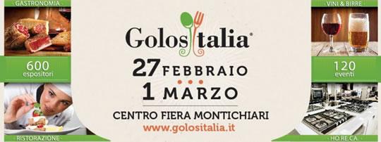 Golositalia 2016 a Montichiari