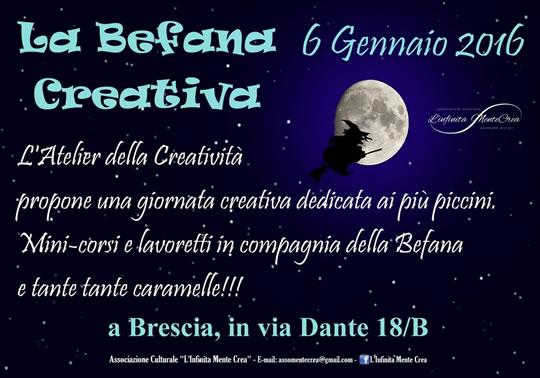 La Befana Creativa a Brescia