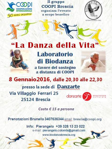 La Danza della Vita a Brescia