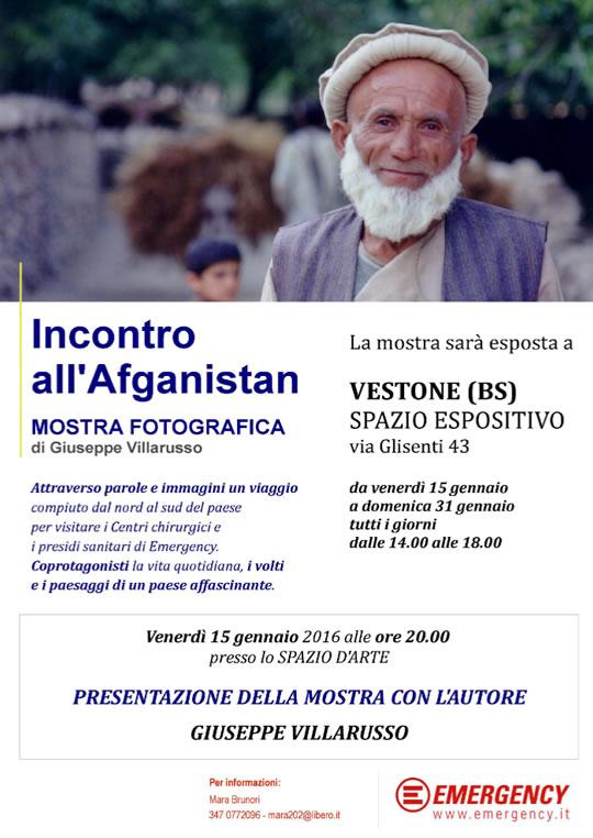 Mostra Incontro all'Afganistan a Vestone