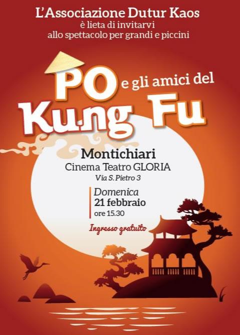 Po e gli Amici di Kung Fu a Montichiari