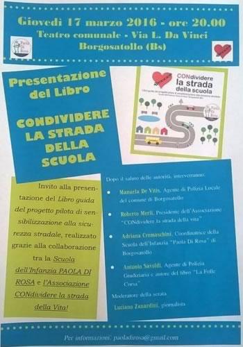 Presentazione Libro Condividere la Strada della Scuola
