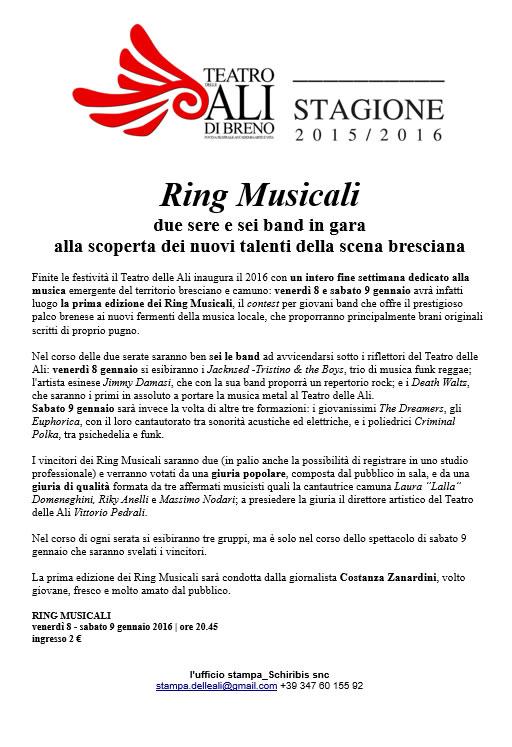 Ring Musicali a Breno