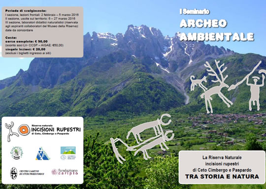 Seminario Archeo Ambientale a CetoSeminario Archeo Ambientale a Ceto