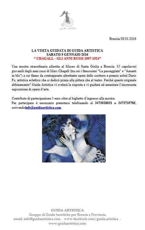 Visita Guidata alla Mostra Chagall Gli Anni Russi 1907-1924