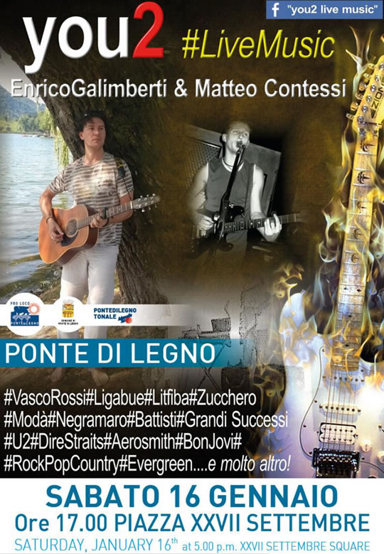 You2 Live Music a Ponte di Legno