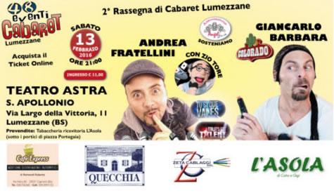 2 Rassegna di Cabaret a Lumezzane
