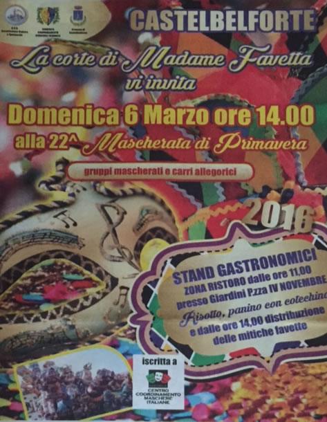 22 Mascherata di Primavera a Castelbelforte MN