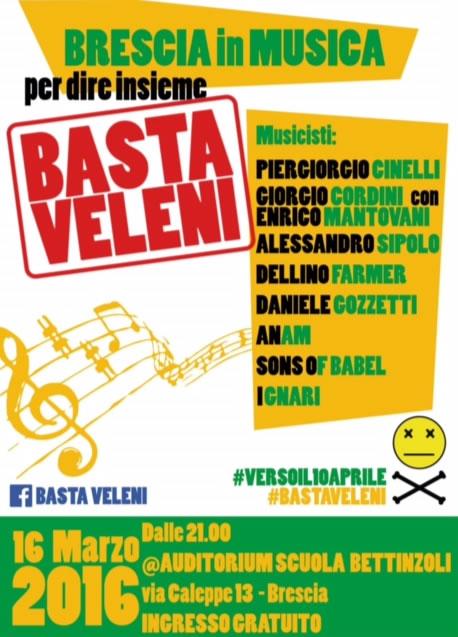 Basta Veleni a Brescia
