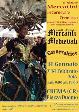 Carnevalcioc 2016 a Crema