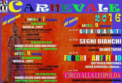 Carnevale 2016  Soncino