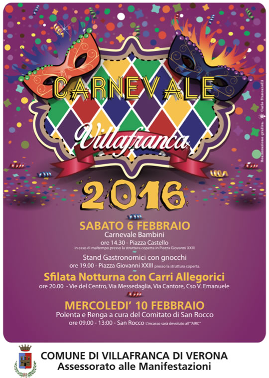 Carnevale a Villafranca VR