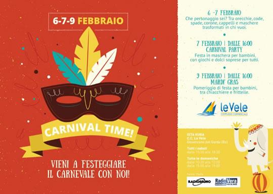 Carnival Time a Le Vele di Desenzano