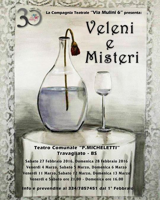Commedia Teatrale Veleni e Misteri a Travagliato