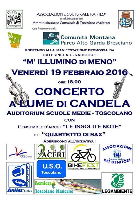 Concerto a Lume di Candela a Toscolano Maderno