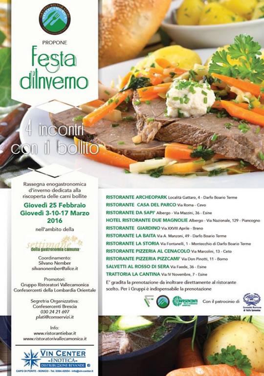 Festa d'Inverno in Valle Camonica