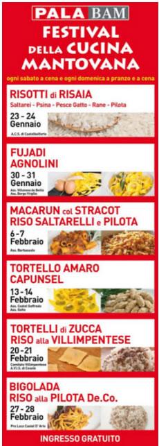 Festival della Cucina Mantovana 2016 a Mantova