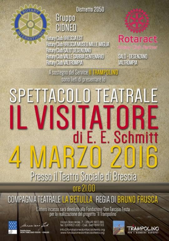 Il Visitatore a Brescia