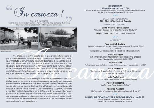 In Carrozza a Brescia