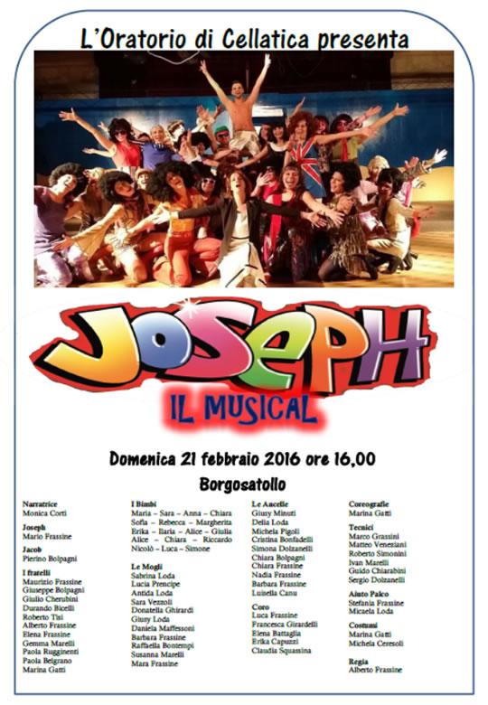 Joseph- Musical a Borgosatollo
