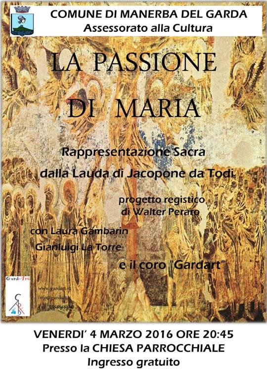 La Passione di Maria a Manerba