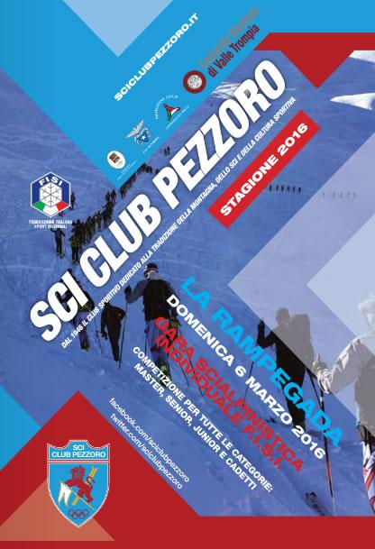 La Rampegada 2016 a Pezzoro