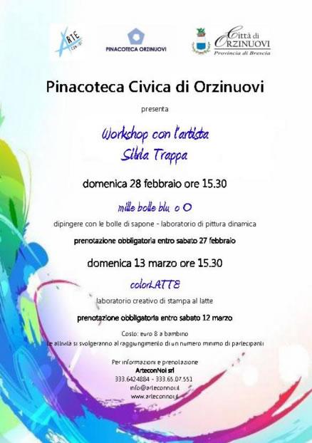 Laboratorio per Bambini in Pinacoteca a Orzinuovi