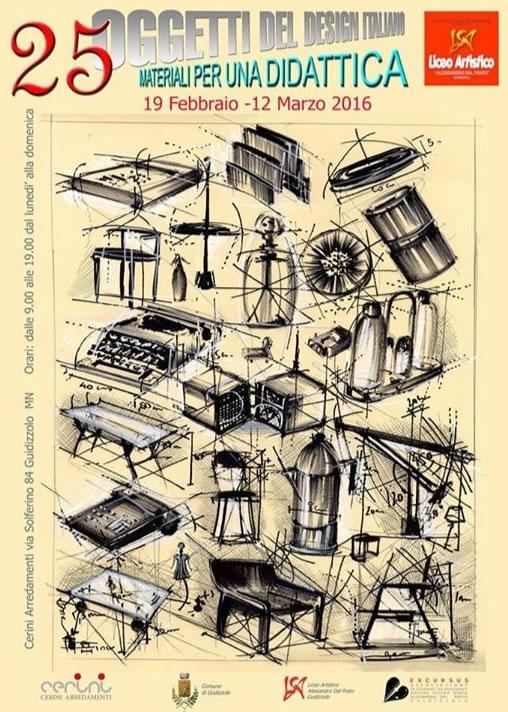 Mostra di Oggetti dal Design Italiano a Guidizzolo MN