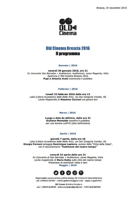 Old Cinema Brescia