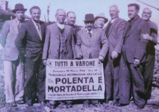 Polenta e Mortadella a Riva del Garda TN