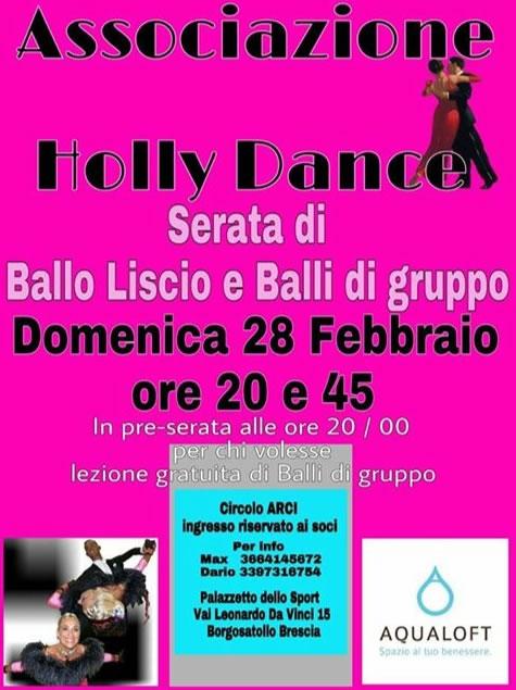 Serata Ballo Liscio e Balli di Gruppo a Borgosatollo