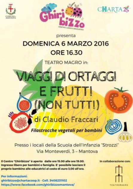 Viaggi di Ortaggi e Frutta a Mantova