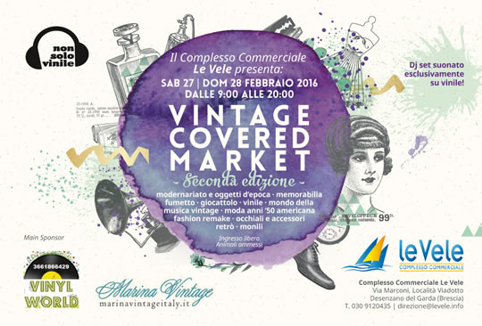 Vintage Covered Market a Desenzano