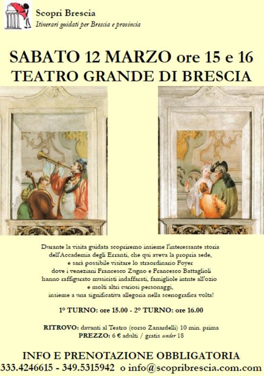 Visita Guidata al Teatro Grande di Brescia
