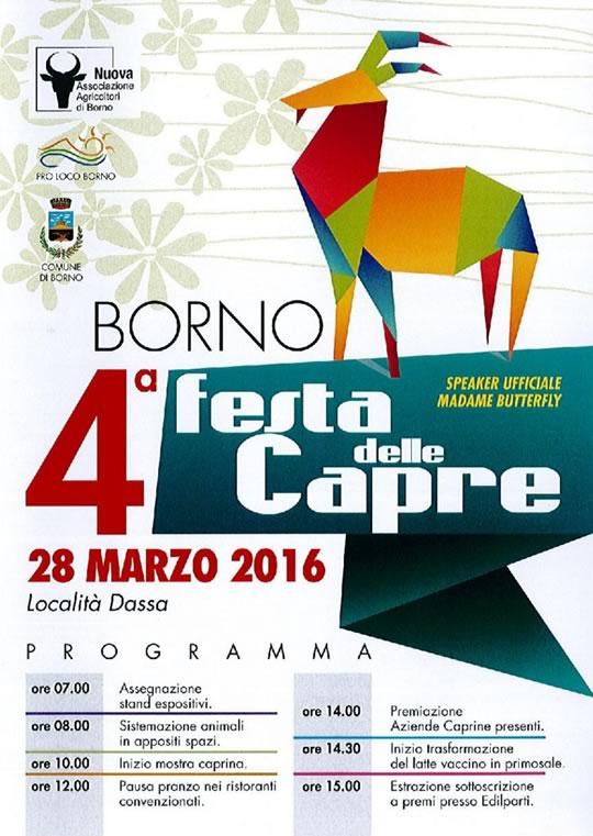4 Festa delle Capre a Borno