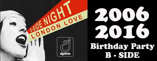 B-SIDE Birthday party a Brescia