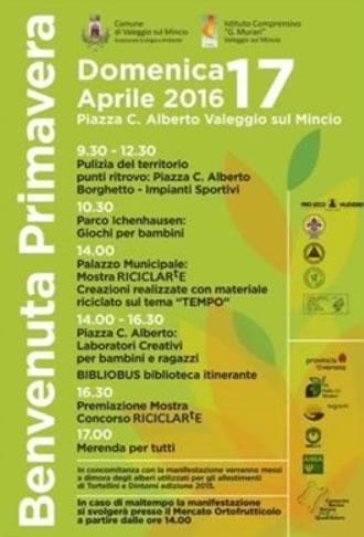 Benvenuta Primavera a Valeggio S/M VR