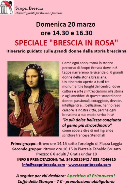 Brescia in Rosa con Scopri Brescia