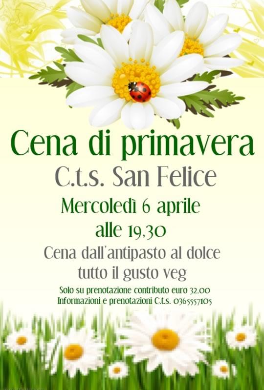 Cena di Primavera a San Felice del Benaco