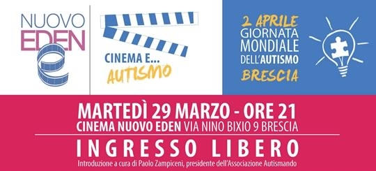 Cinema e Autismo a Brescia