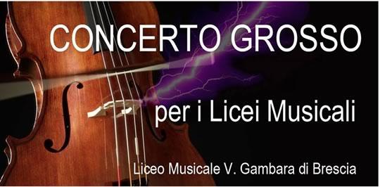 Concerto Grosso per i Licei Musicali a Brescia