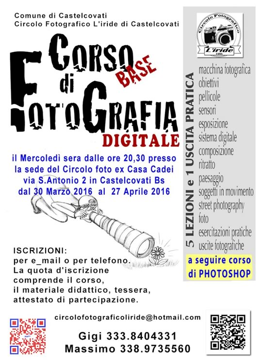 Corso di Fotografia Digitale a Castelcovati